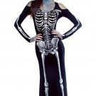 Long Skeleton Dress Adult Halloween Costume W51808363