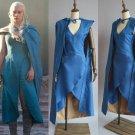 Game of Thrones Daenerys Targaryen cosplay party Dress women Halloween Costume W871044