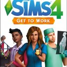 The Sims 4 Get to Work Expansion Pack PC/Mac Game Download Origin CD-Key Global
