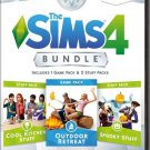 The Sims 4 DLC Bundle Pack 2 Outdoor Retreat/Cool Kitchen/Spooky Stuff PC Game Download Key Global