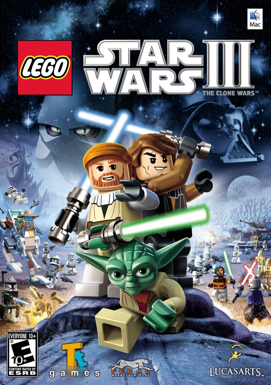 LEGO Star Wars III: The Clone Wars Windows PC Game Download Steam CD-Key Global