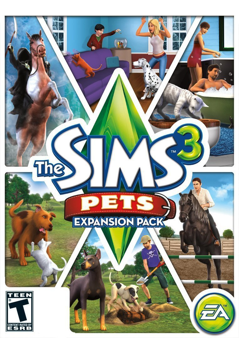 The Sims 3: Pets Expansion Pack Windows PC/Mac Game Download Origin CD-Key Global