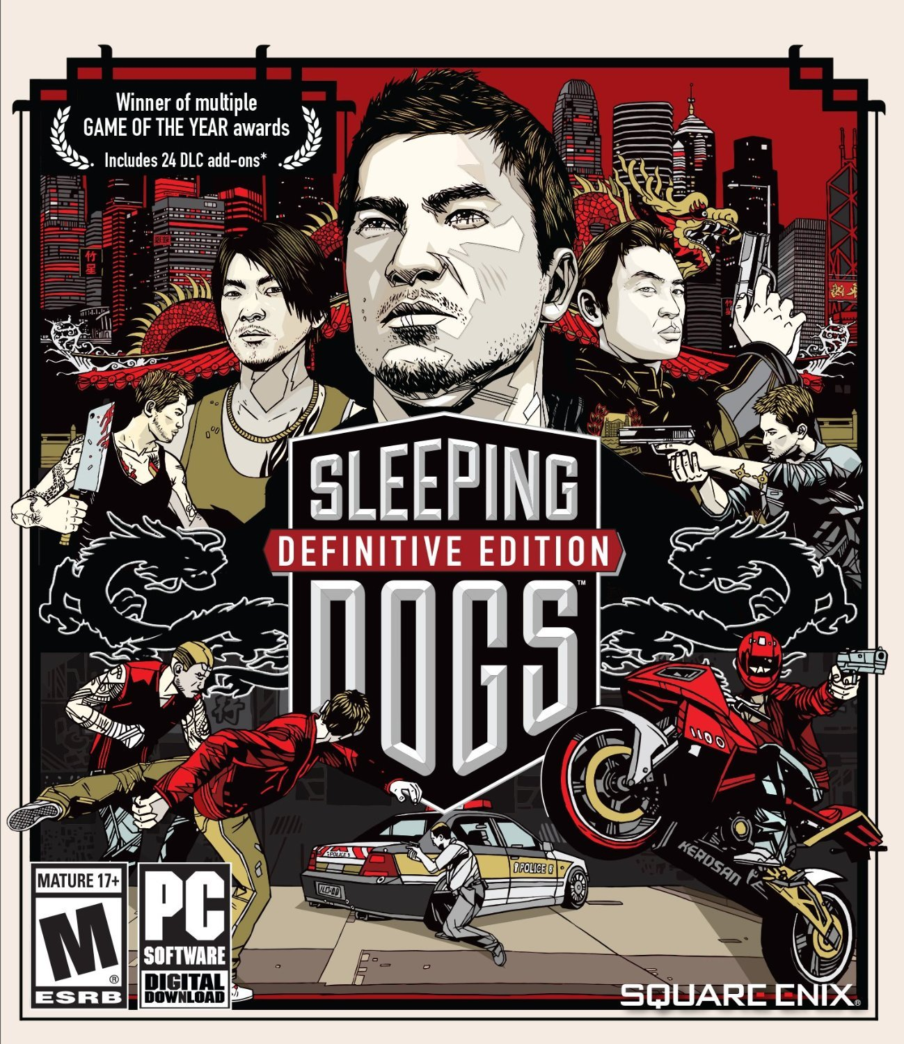 Sleeping Dogs: Definitive Edition Windows PC Game Download Steam CD-Key Global