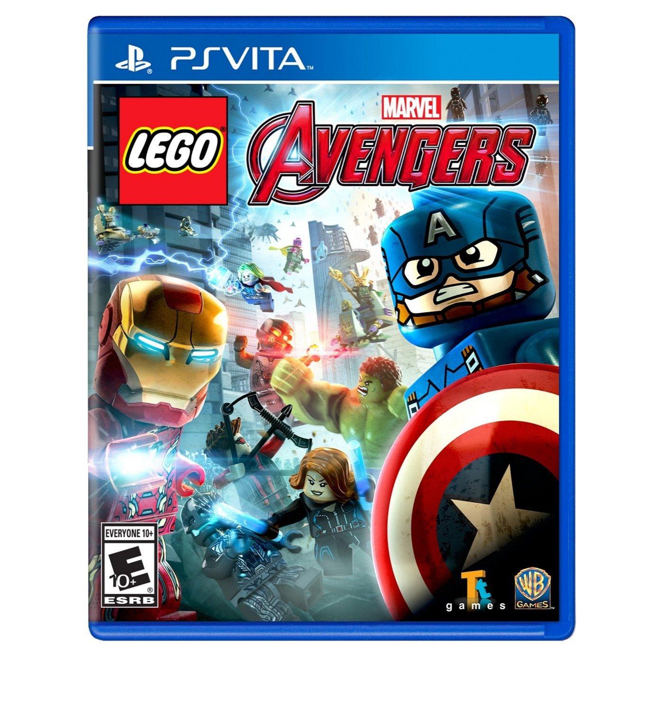 LEGO MARVEL's Avengers PSVita Physical Game Cartridge US