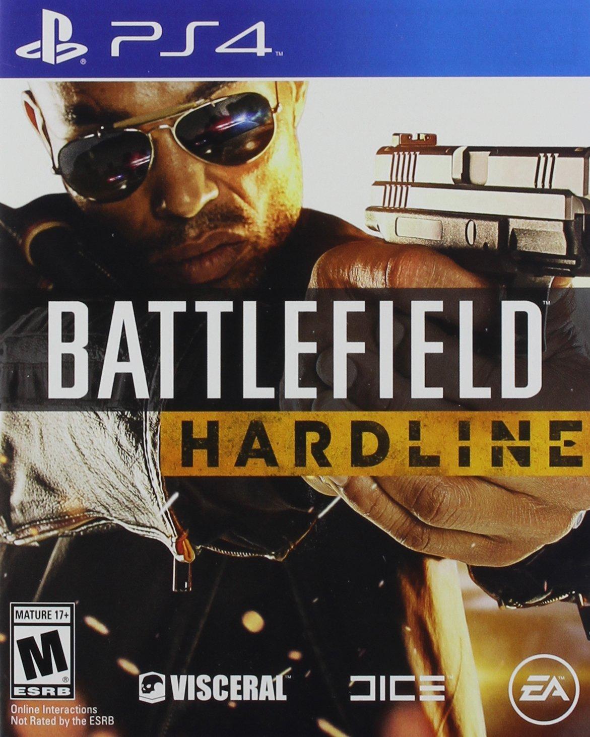 Battlefield Hardline PS4 Physical Game Disc US
