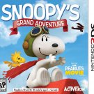 Snoopy's Grand Adventure 3DS Physical Game Cartridge US