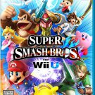 Super Smash Bros. Wii U Physical Game Disc US