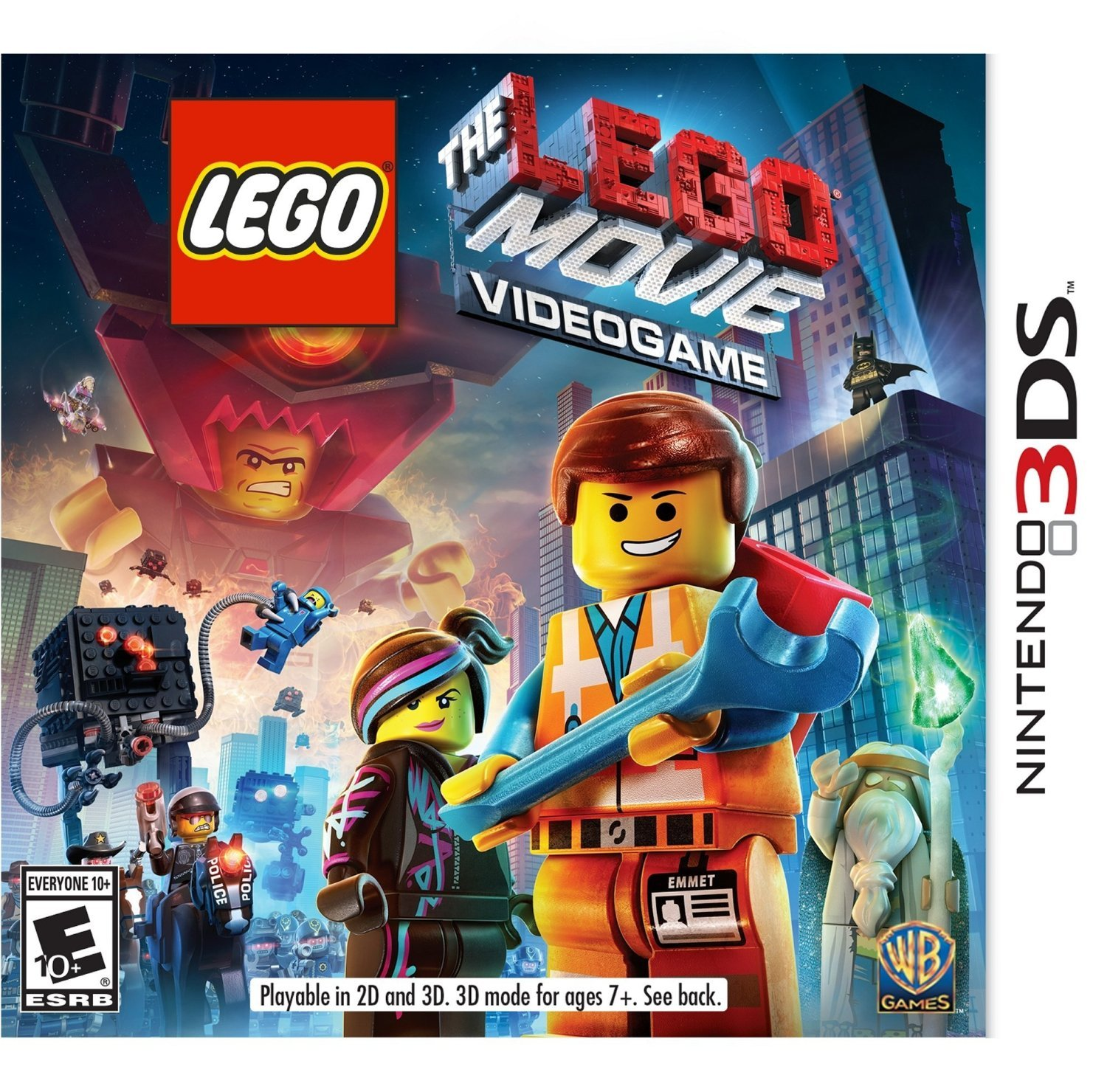 The LEGO Movie Videogame 3DS Physical Game Cartridge US