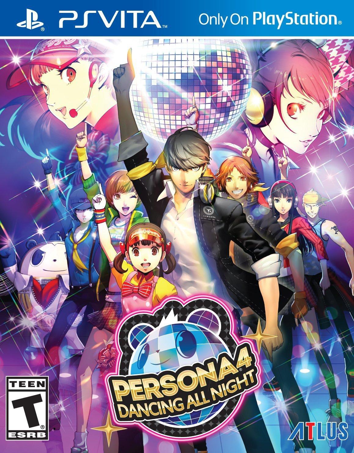 Persona 4: Dancing All Night PSVita Physical Game Cartridge US