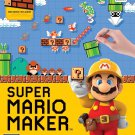 Super Mario Maker Wii U Physical Game Disc US