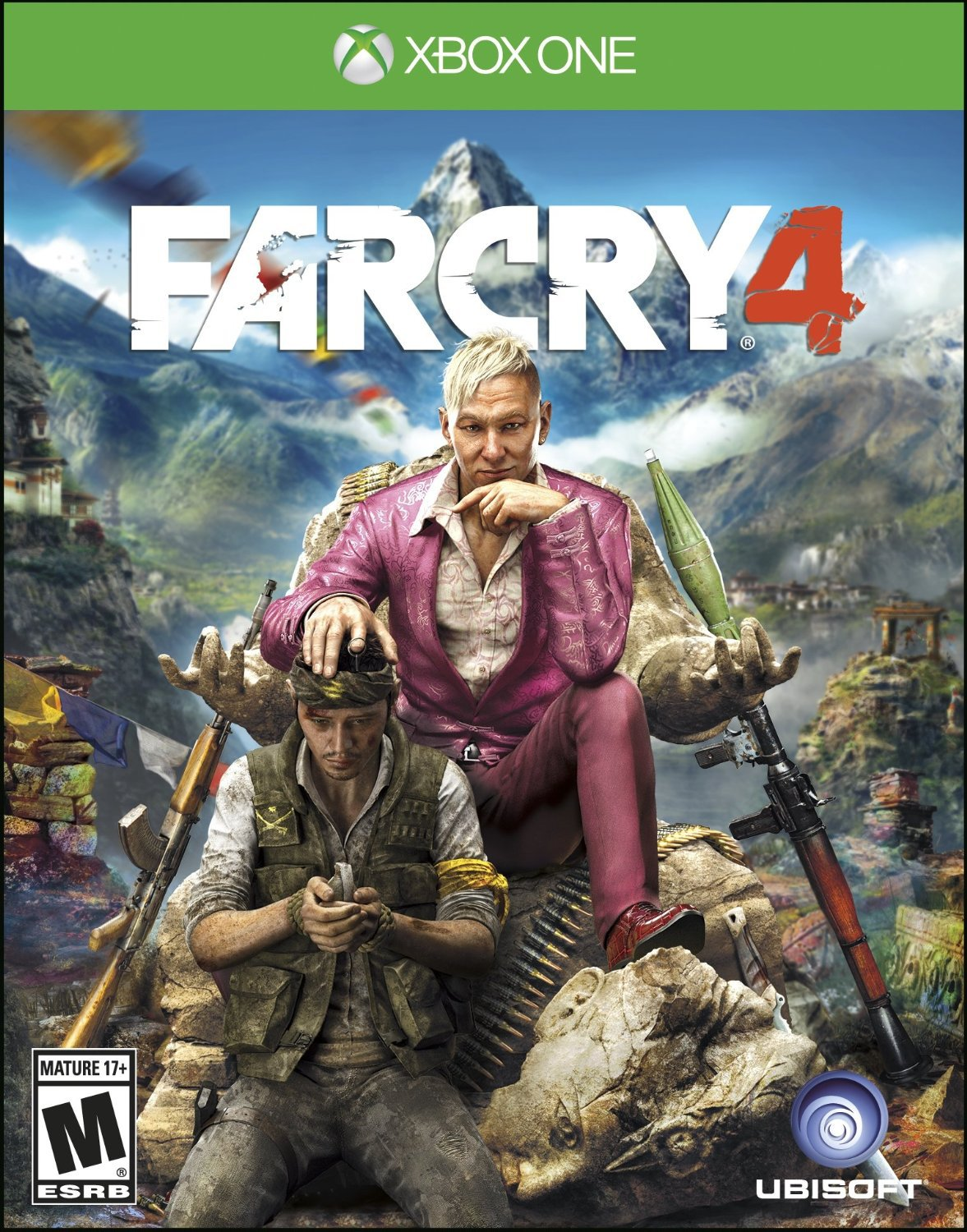 Far Cry 4 Xbox One Physical Game Disc US