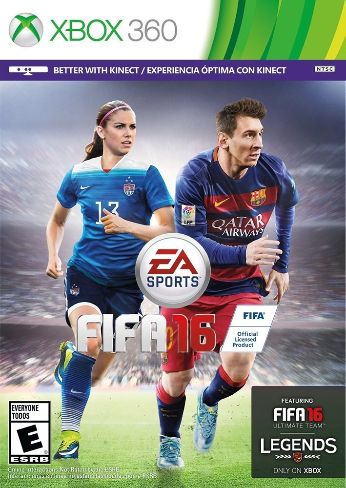 Fifa 16 Xbox 360 Physical Game Disc US