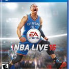 NBA Live 16 PS4 Physical Game Disc US