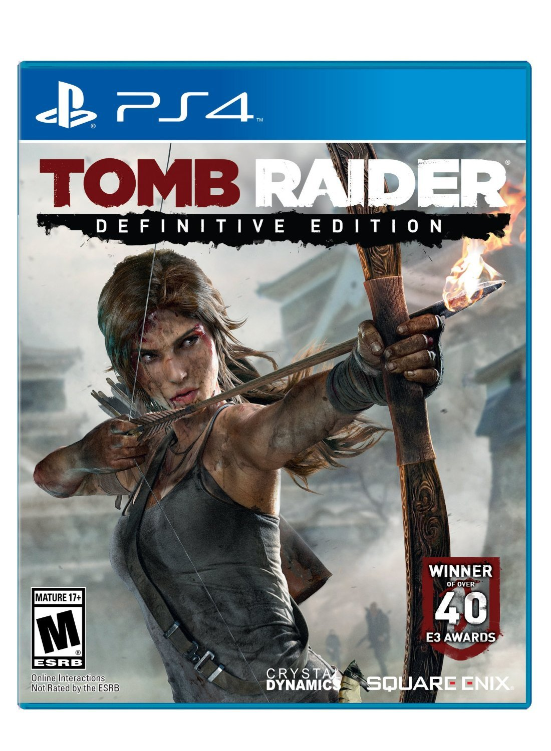 Tomb Raider: Definitive Edition PS4 Physical Game Disc US