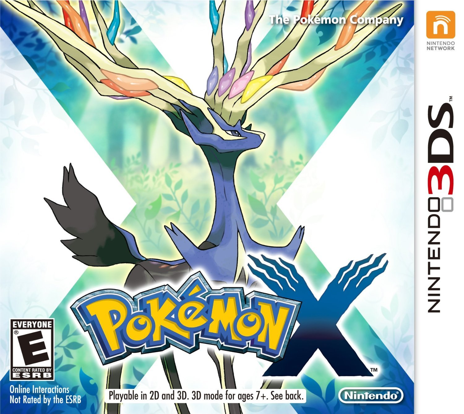Pokémon X 3DS Physical Game Cartridge US