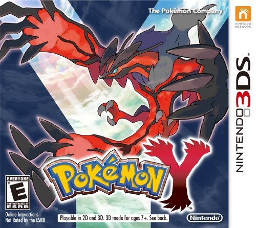 Pokémon Y 3DS Physical Game Cartridge US