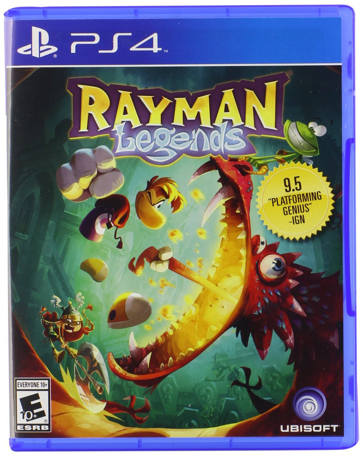 Rayman Legends PS4 Physical Game Disc US