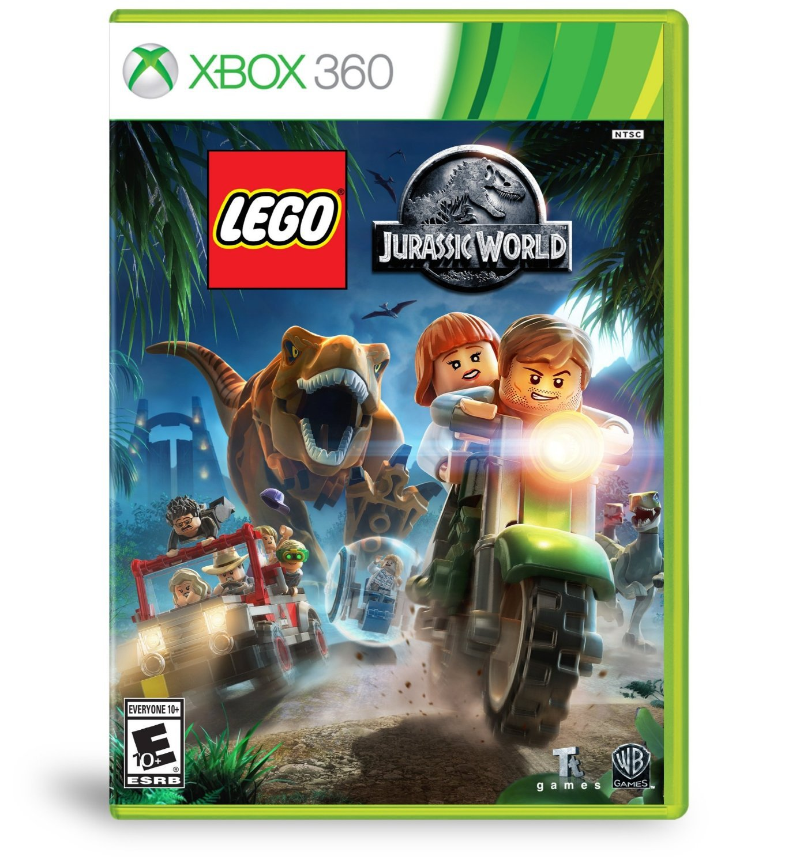 LEGO Jurassic World Xbox 360 Physical Game Disc US