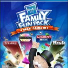 Hasbro Family Fun Pack PS4 Physical Game Disc US