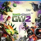 Plants vs. Zombies Garden Warfare 2 PS4 Physical Game Disc US