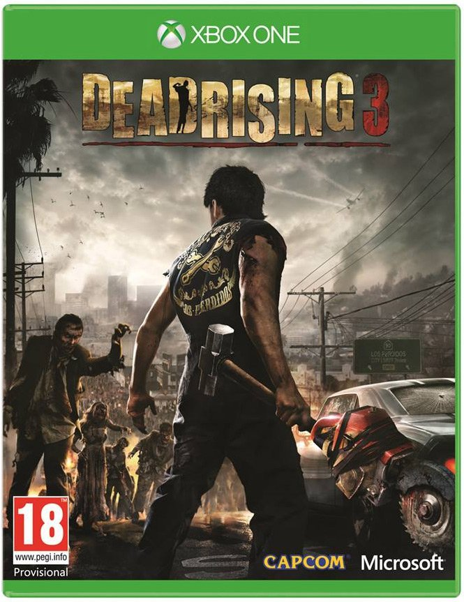 Dead Rising 3 Xbox One Physical Game Disc US