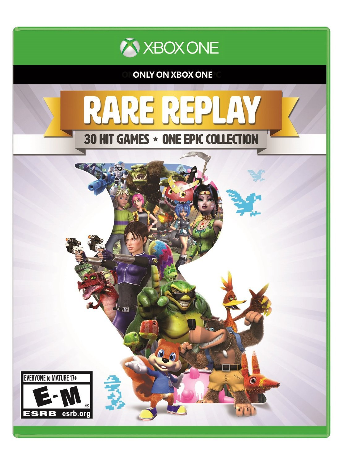 Rare Replay Xbox One Physical Game Disc US