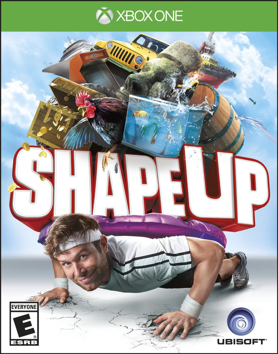 Shape Up Xbox One Physical Game Disc US