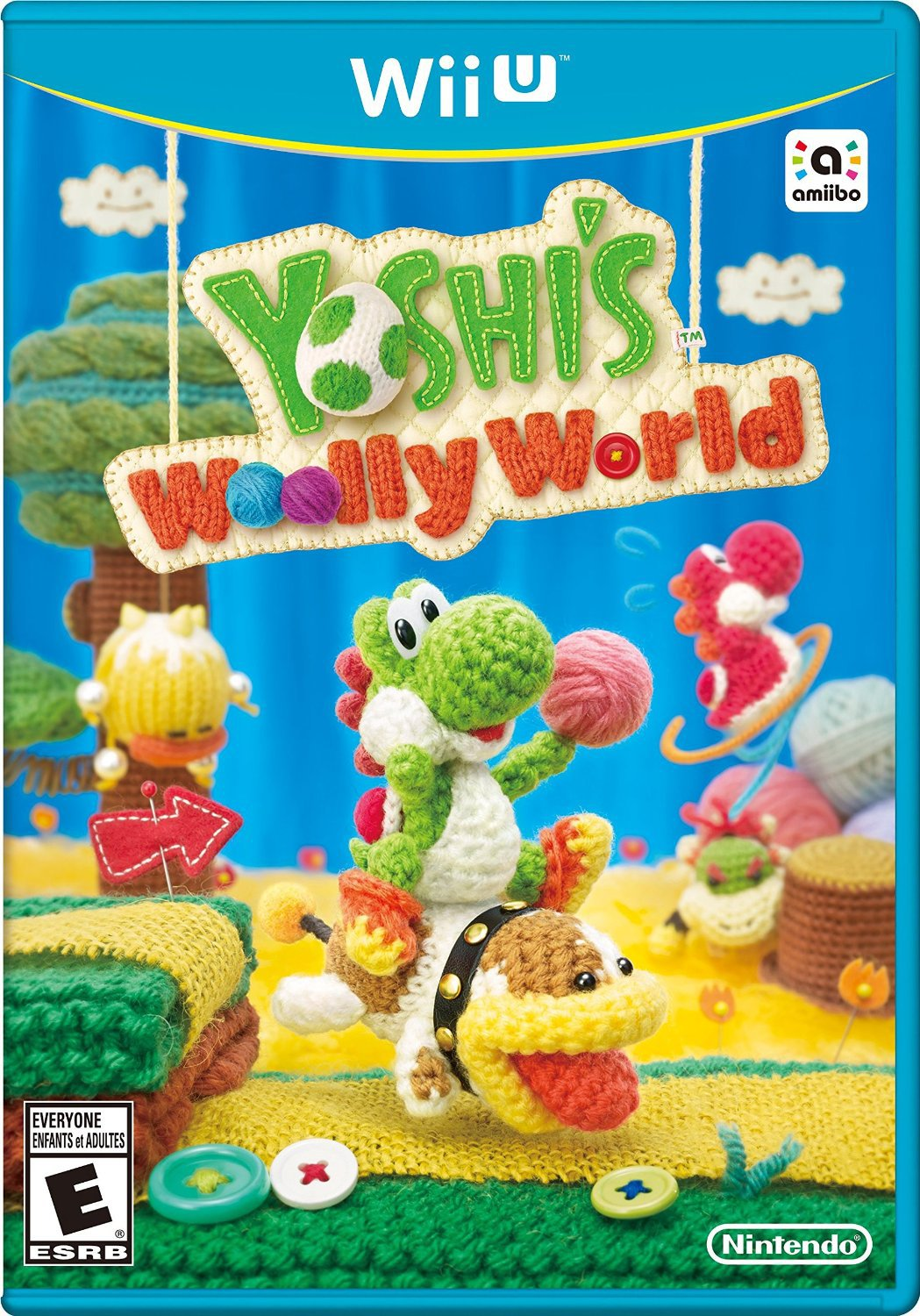 Yoshi's Woolly World Wii U Physical Game Disc US