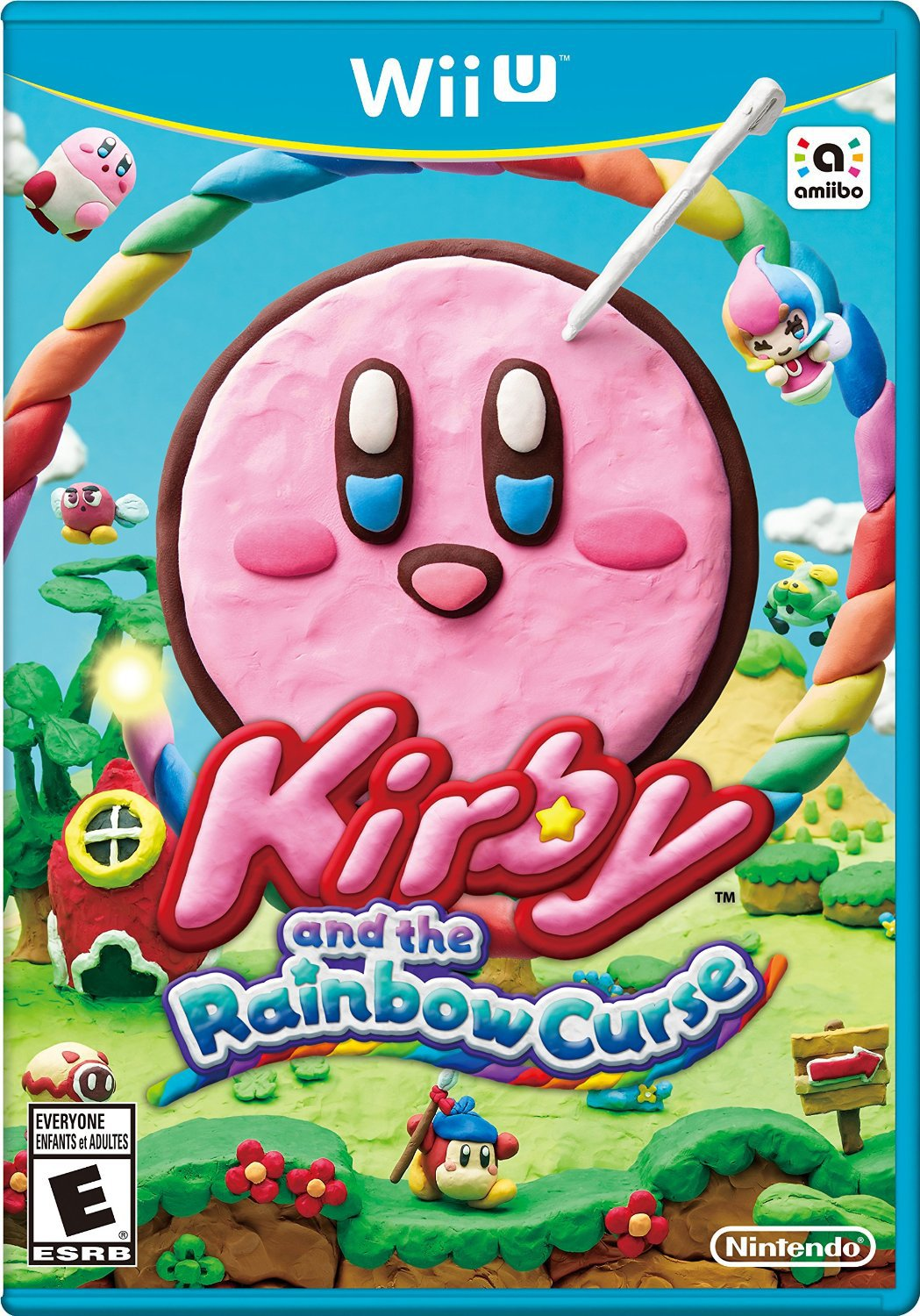 Kirby & The Rainbow Curse Wii U Physical Game Disc US