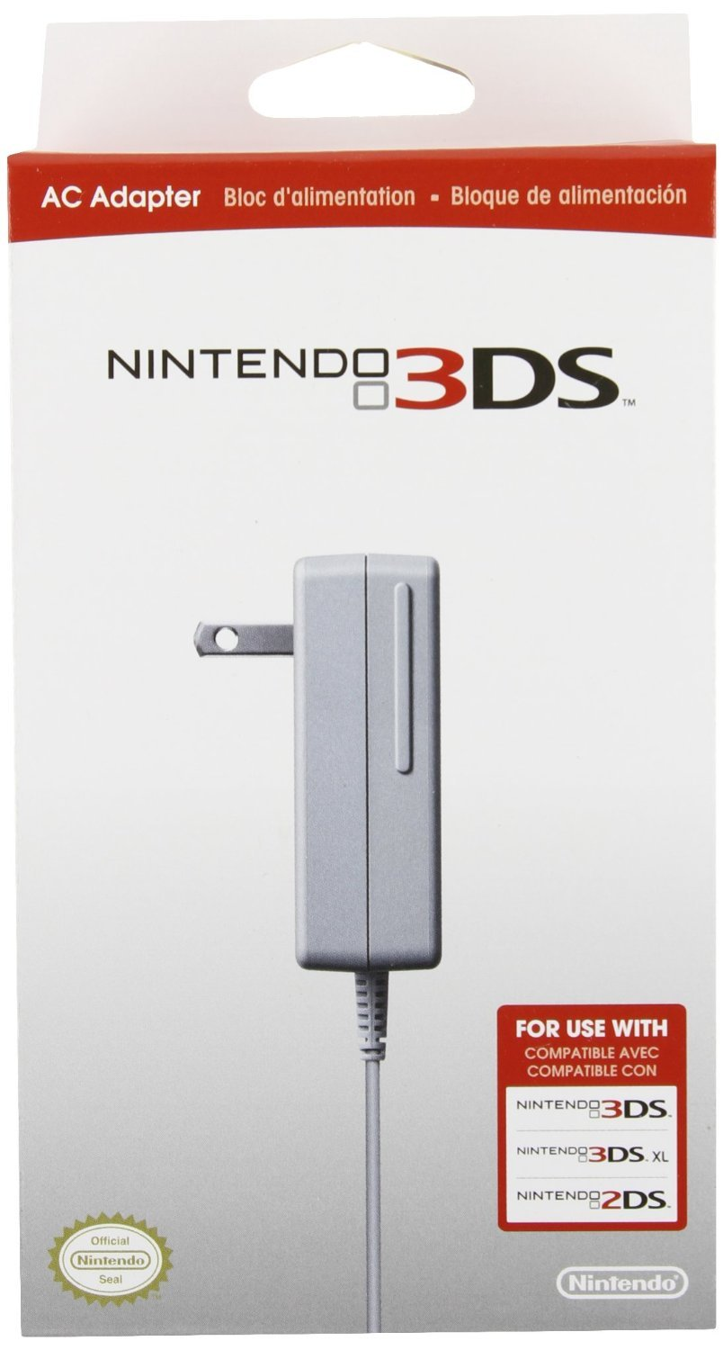 Nintendo 3DS/3DS XL/2DS AC Adapter
