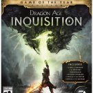 Dragon Age Inquisition - Game of the Year Edition Xbox One Physical Game Disc US