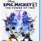 Epic Mickey 2: The Power of Two Wii U Physical Game Disc US