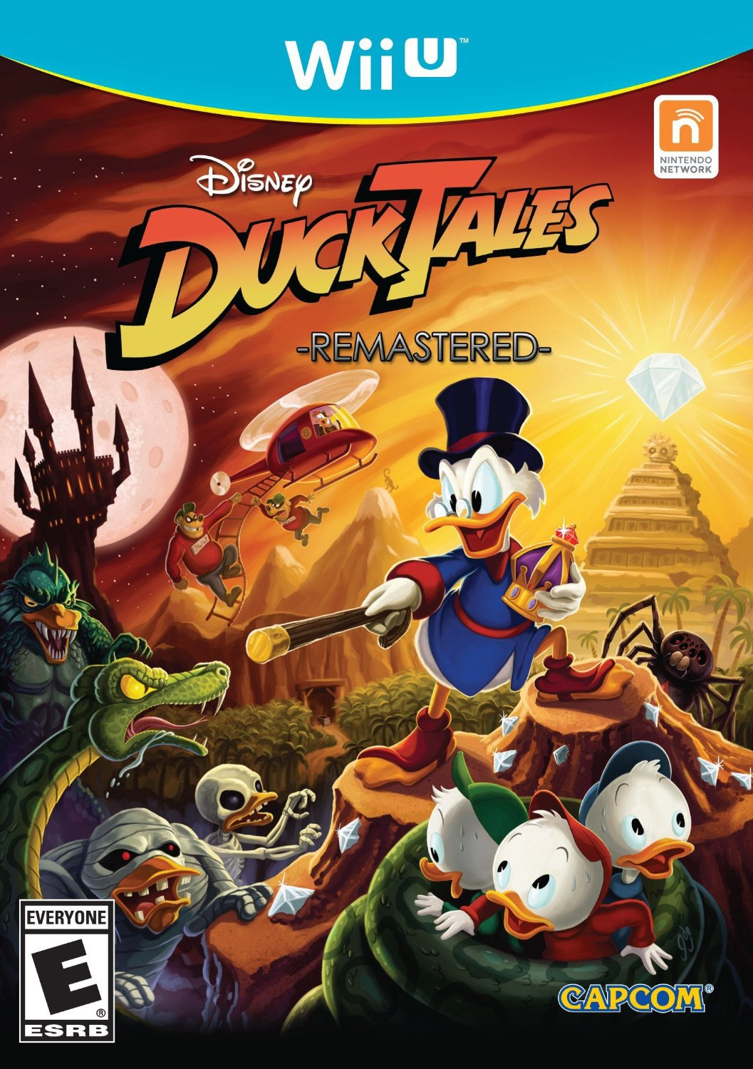 DuckTales Remastered Wii U Physical Game Disc US