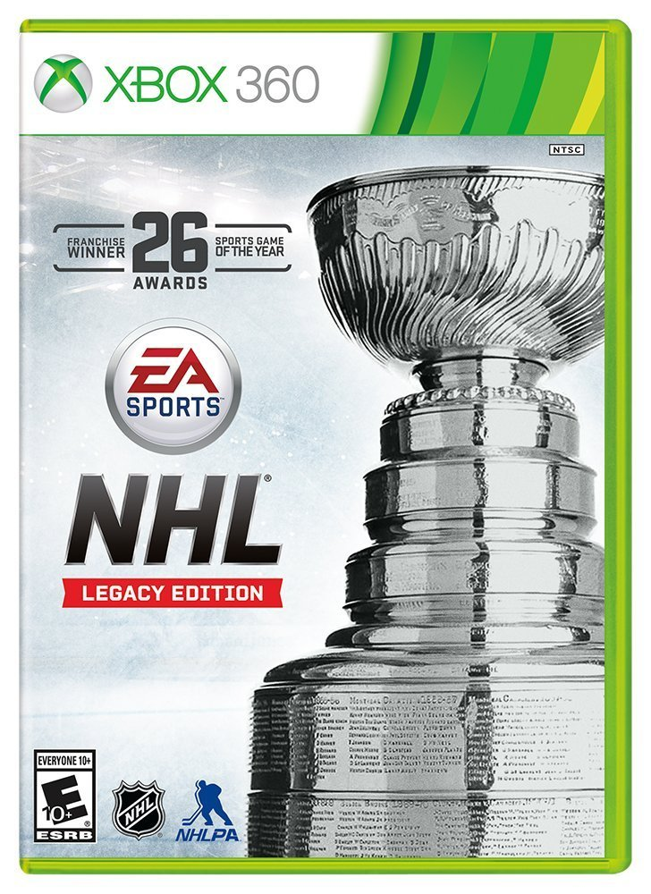 NHL Legacy Edition Xbox 360 Physical Game Disc US