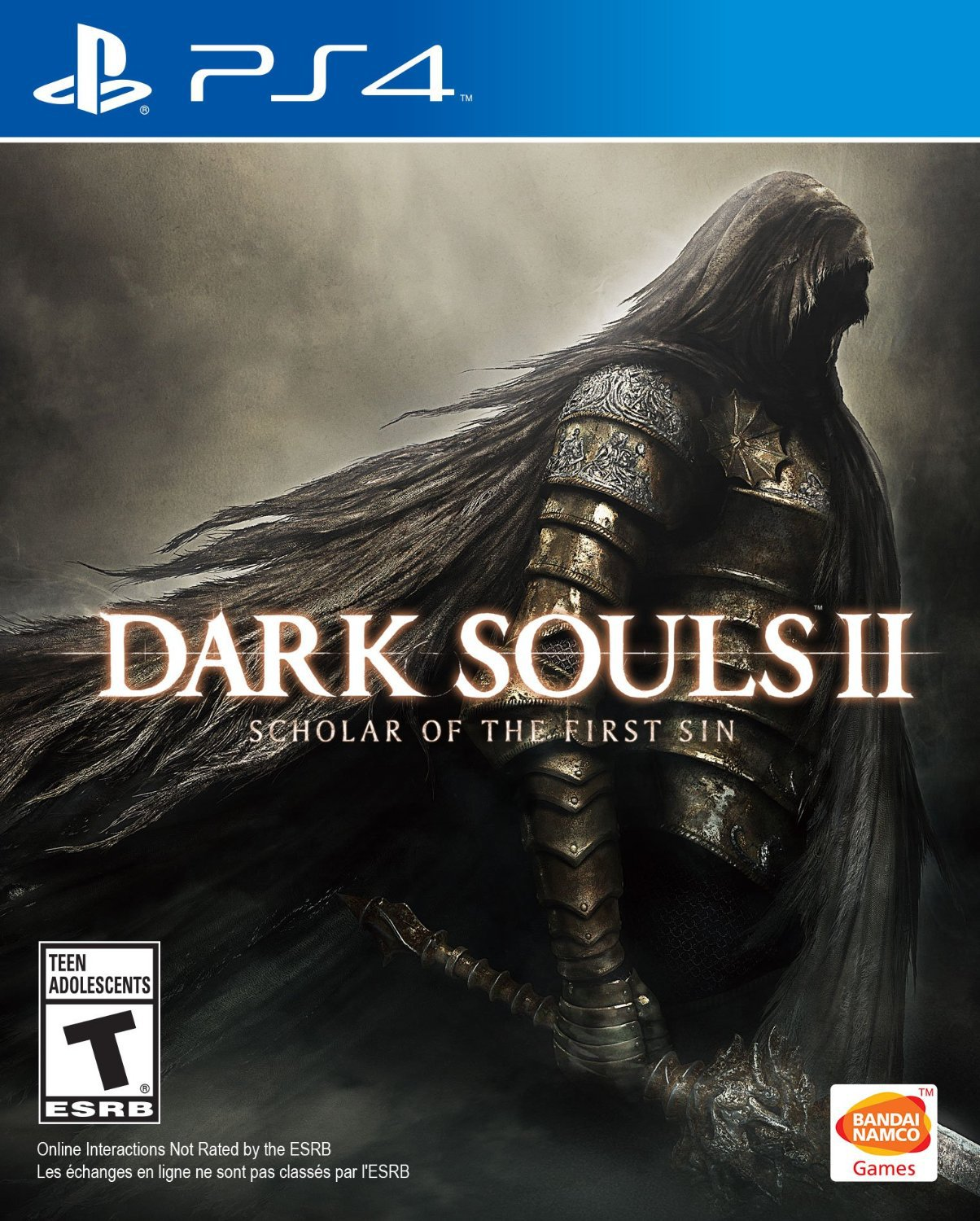 Dark Souls II: Scholar of the First Sin PS4 Physical Game Disc US