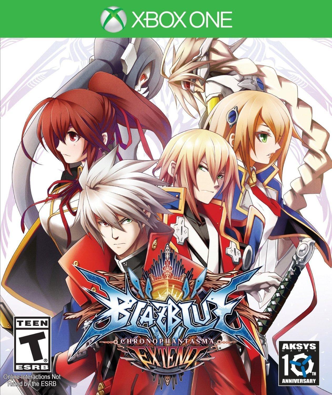 BlazBlue: Chrono Phantasma EXTEND Xbox One Physical Game Disc US