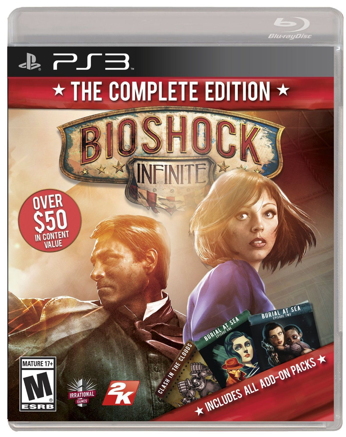 Bioshock Infinite: The Complete Edition PS3 Physical Game Disc US