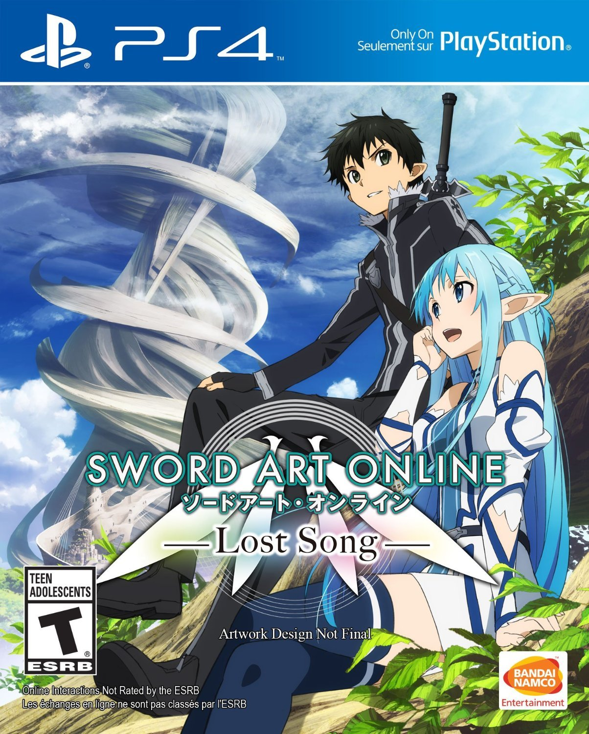 Sword Art Online: Lost Song PS4 Physical Game Disc US