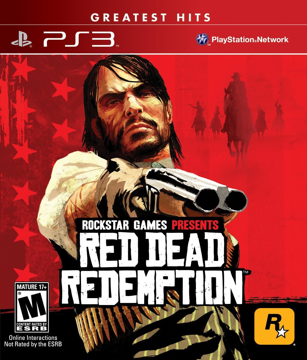 Red Dead Redemption PS3 Physical Game Disc US