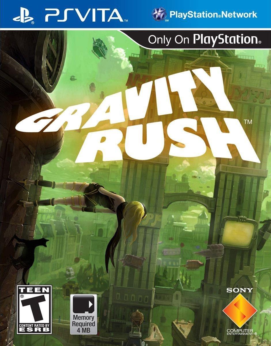 Gravity Rush PSVita Physical Game Cartridge US