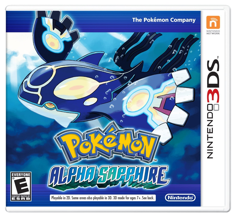 Pokémon Alpha Sapphire 3DS Physical Game Cartidge US