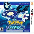 Pokémon Alpha Sapphire 3DS Physical Game Cartidge US