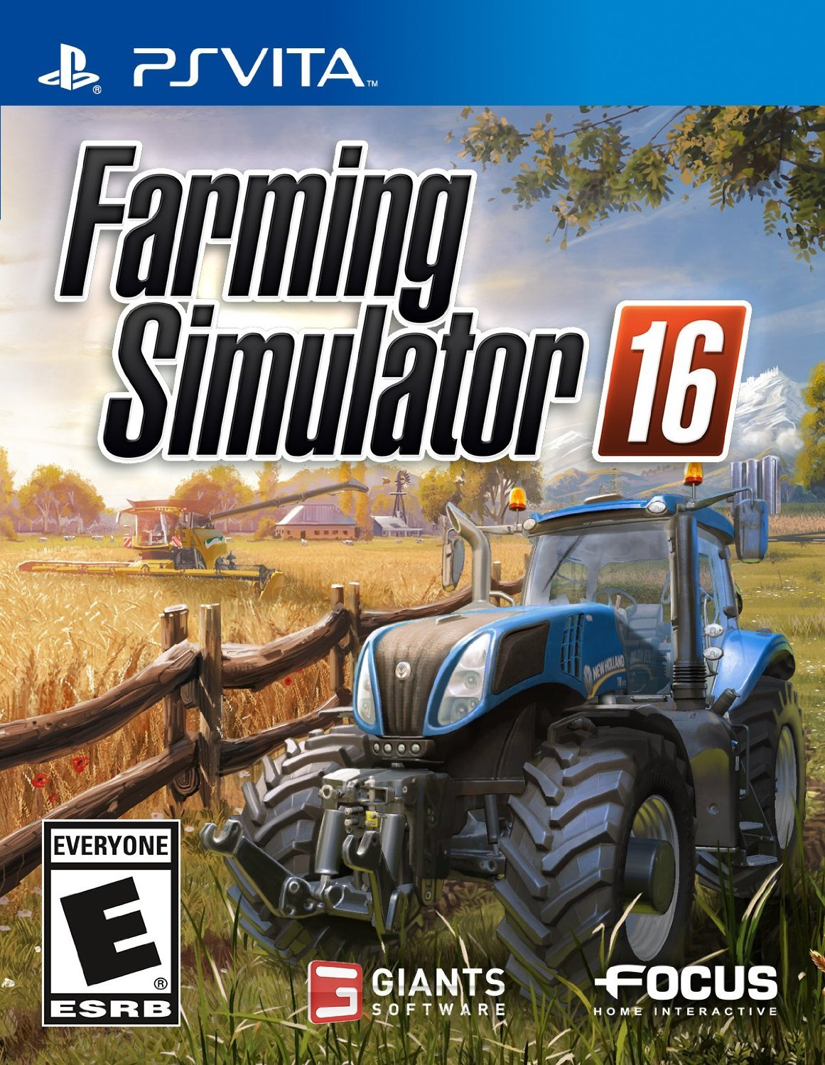 Farming Simulator 16 PSVita Physical Game Cartridge US