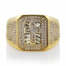 925 Sterling Silver Fashion Men's Ring In Simulated Diamond From Silver Dew