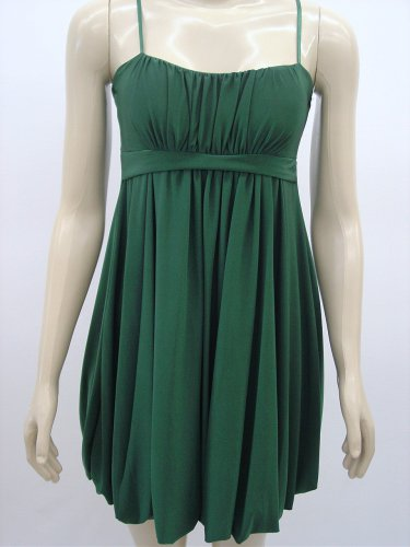 NEW BUBBLE EMERALD GREEN COCKTAIL DRESS- Large