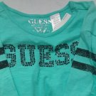 Guess tie front top embellished stones 6X