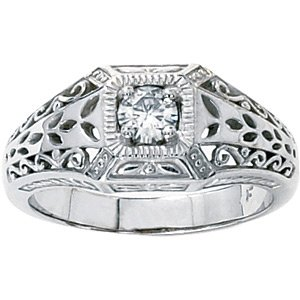 Fancy Moissanite Fashion Ring