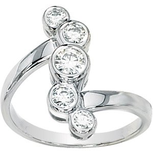 Journey 5-Stone Moissanite Ring