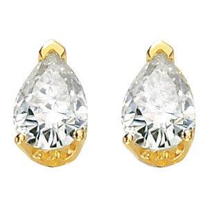 Pear Shaped Moissanite Earrings*