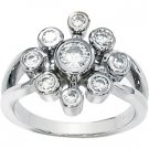Moissanite Nine-Stone Fashion Ring*